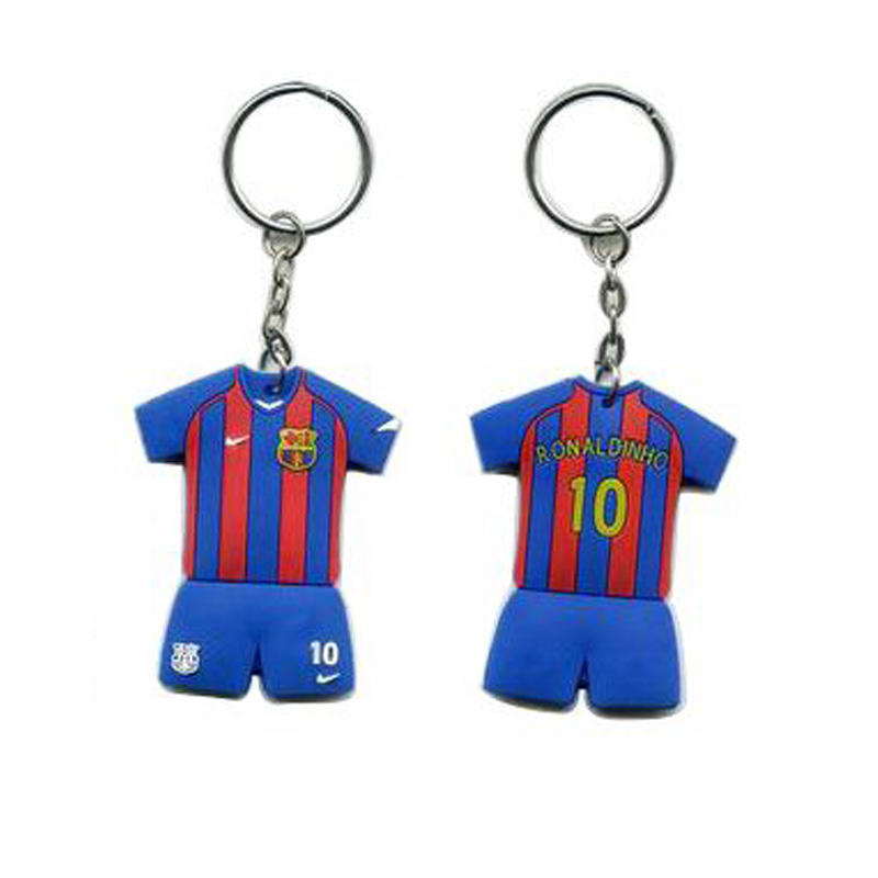 Promotional gift Custom Design World Cup PVC Keychain
