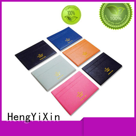 holder leather card holder womens mirror for valentines HengYiXin