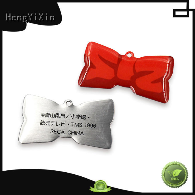 metal name badges badge zinc HengYiXin Brand