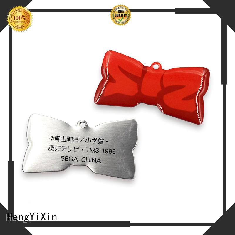 metal name badges badge gift metal badge zinc HengYiXin Brand