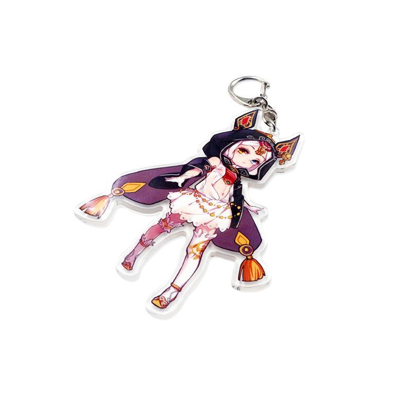 Promotional gift anime acrylic keychain