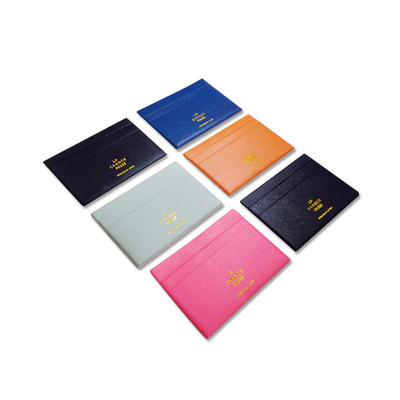 Business Gift Fashion Mini Purse Leather Credit Card Holder Wallet