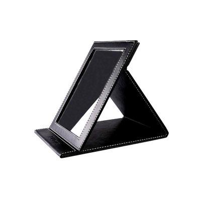 Women's gift PU foldable mirror