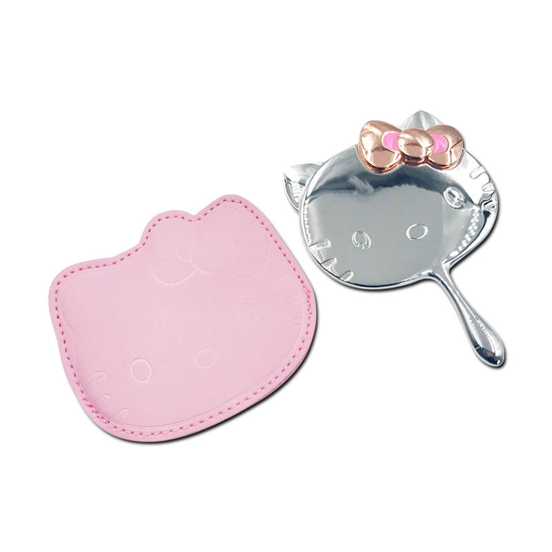 Women's gift make up hand mirror for Birthday Gift