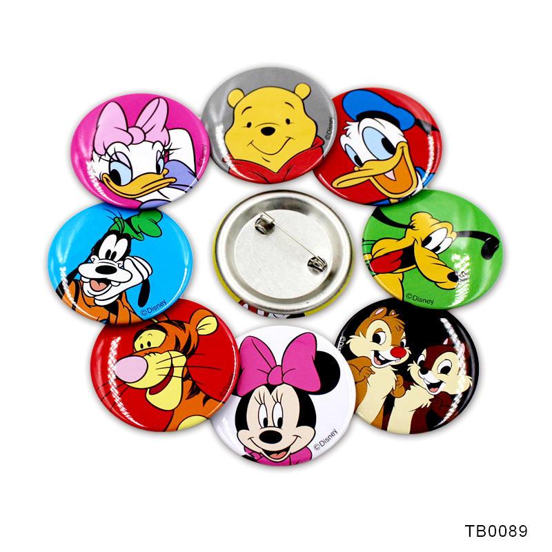 Promotional gift Metal Printing Badge Button