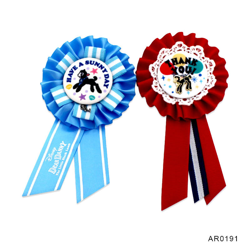 Party gift new product award ribbon rosette