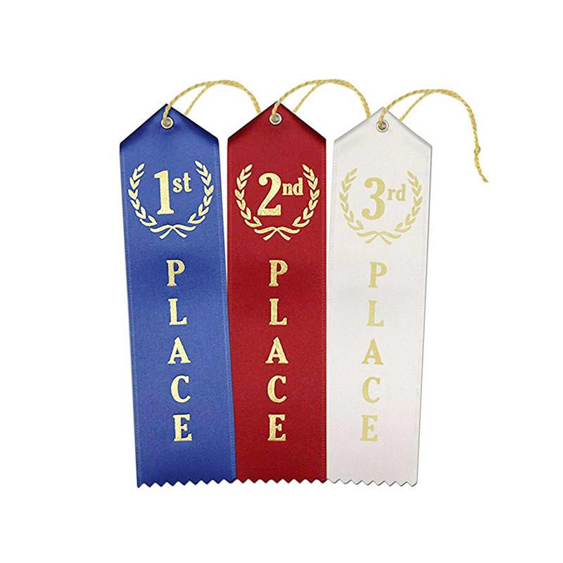 1st - 2nd -3rd Place Premium Gift Award Ribbon For Children's Art Show