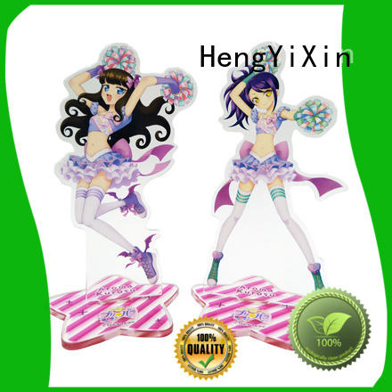 anime acrylic keychain anime keychain acrylic HengYiXin Brand