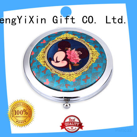 HengYiXin foldable hand held mirror supplier for bedroom