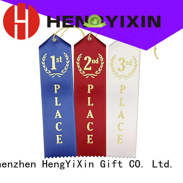Quality HengYiXin Brand first place ribbon premium place