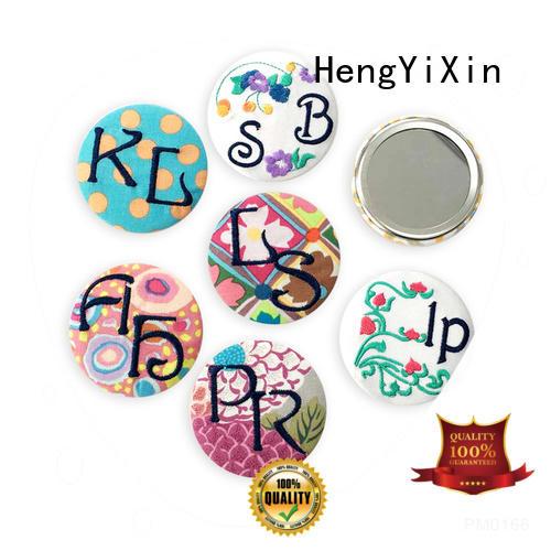 Hot pocket mirror gold HengYiXin Brand