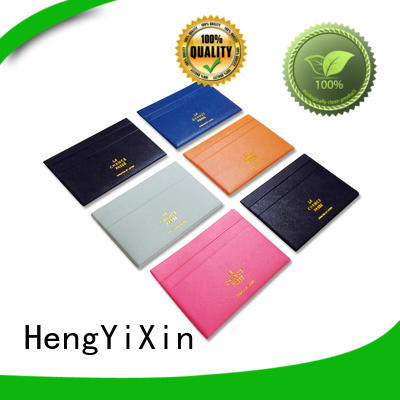 HengYiXin Brand womens valentines foldable leather mirror manufacture