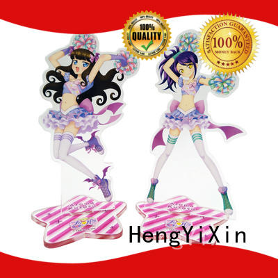 gift keychain standee cute keychains HengYiXin