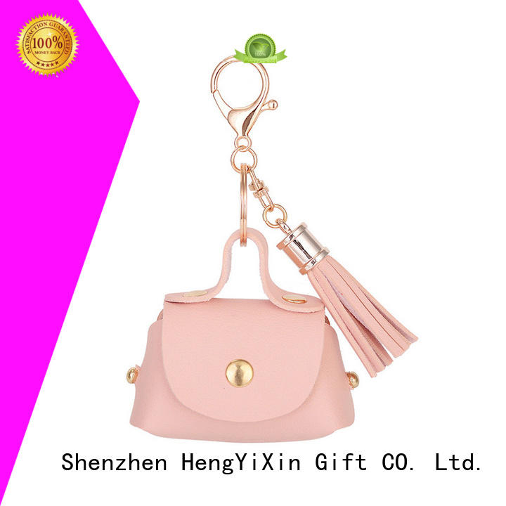 fashion foldable bag leather leather mirror HengYiXin