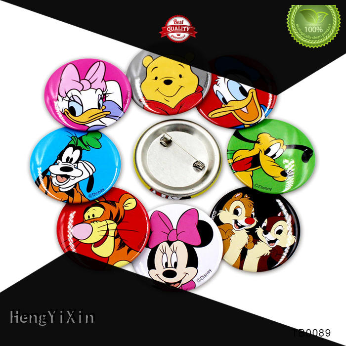 HengYiXin holographic button badge maker wholesale for children