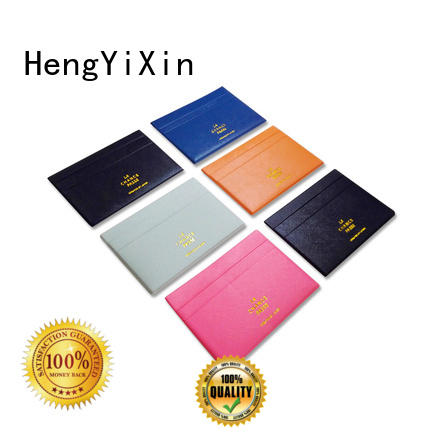 girls mirror leather mirror purse wallet HengYiXin company
