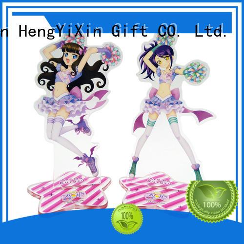 Quality HengYiXin Brand anime acrylic keychain gift