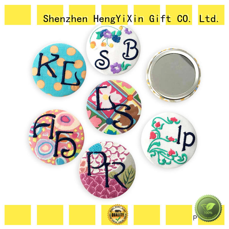 hand double sided mirror personalized for household HengYiXin