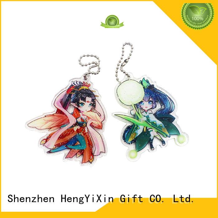 gift acrylic keychain OEM  HengYiXin