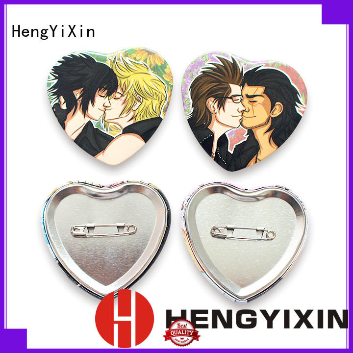 HengYiXin Brand promotional anime custom cute pin badges