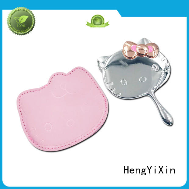 small makeup mirror single side for girls HengYiXin