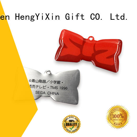 Wholesale badge zinc metal badge HengYiXin Brand