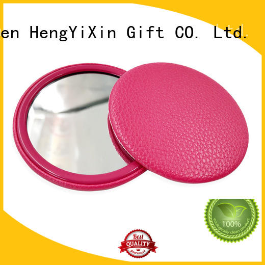 double sided makeup mirror girls tinplate fancy Warranty HengYiXin