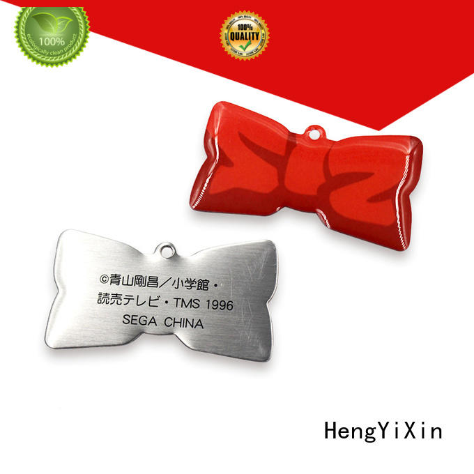 promotional custom metal badges design for souvenir HengYiXin