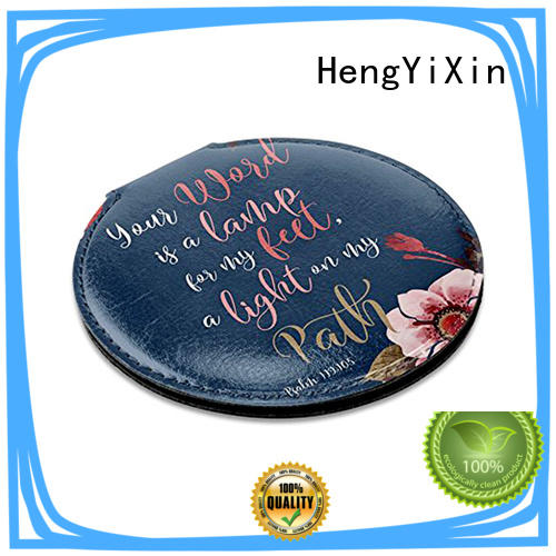 hand handheld makeup mirror badge for bedroom HengYiXin
