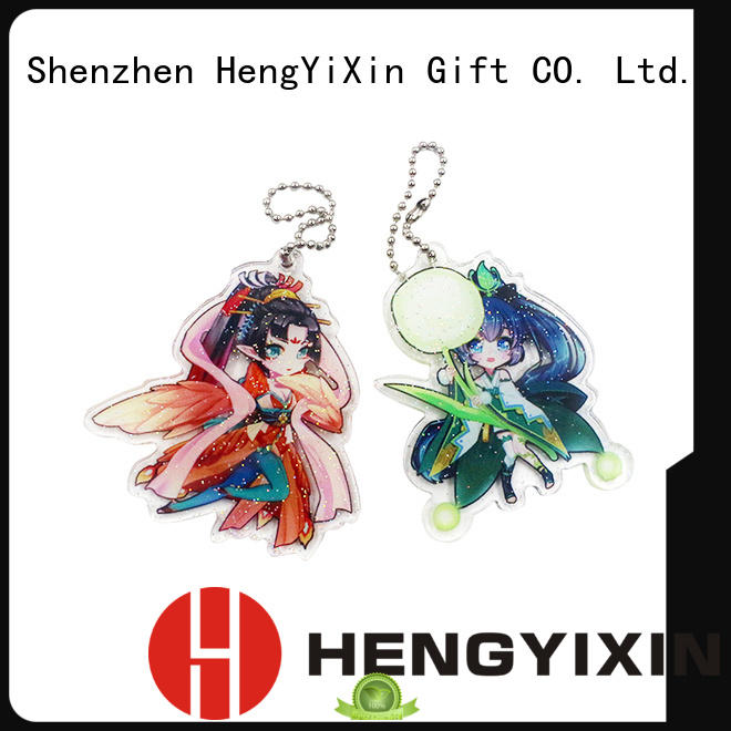 Quality HengYiXin Brand promotional gift cute keychains