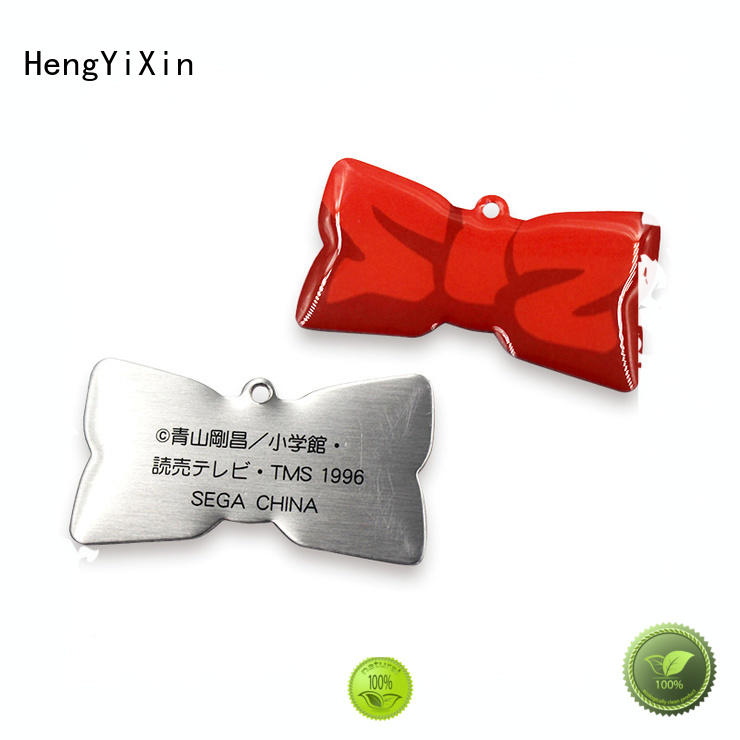 Quality HengYiXin Brand badge gift metal badge