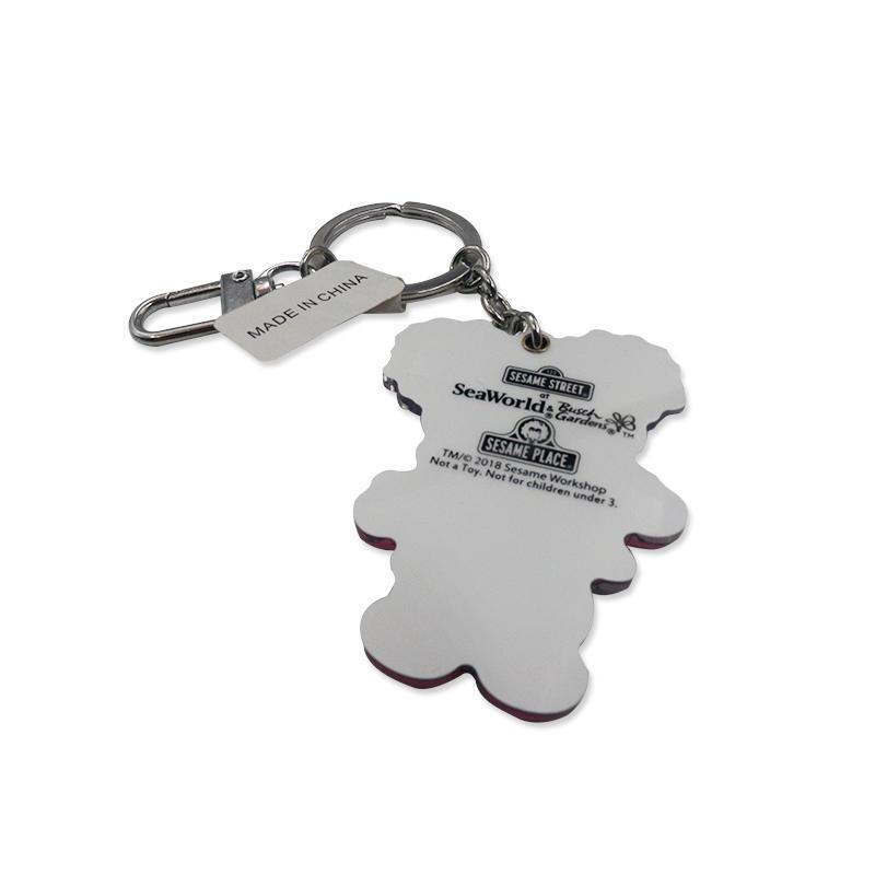 Promotional gift Custom Eco-friendly Anime Character Acrylic Keychain 3D keyring