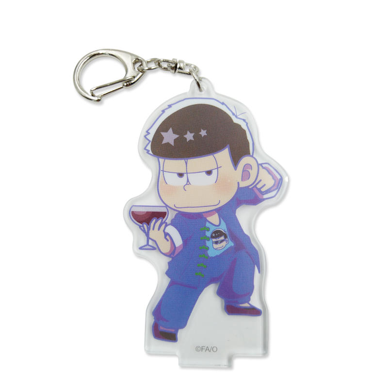Promotional gift Custom Anime Character Acrylic Keychain Eco-Friendly Printing Logo Key Chain
