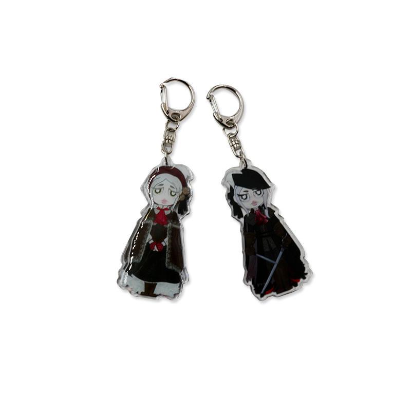 Promotional gift Custom japan Character Anime Acrylic Keychain