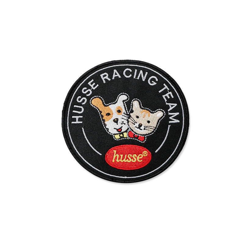 Promotional gift Fabric 3D Embossing Embroidery Patch for Clothing