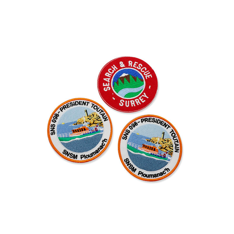 Promotional gift Custom 3D Embroidery Patch Badges Style Iron on Patches