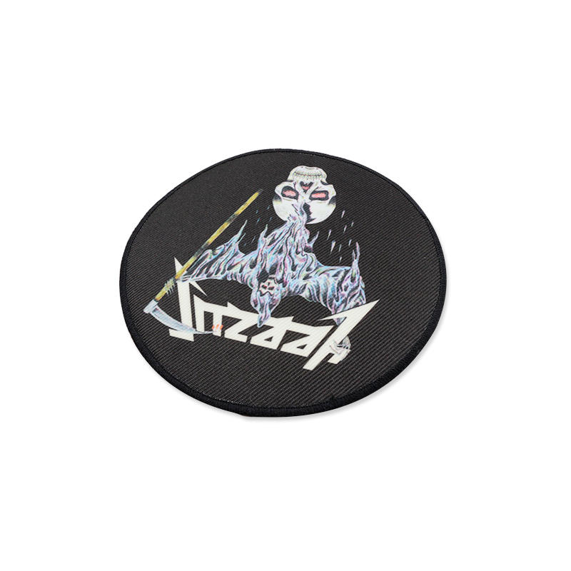 Promotional gift Custom Woven Embroidery Patch Animie Badge