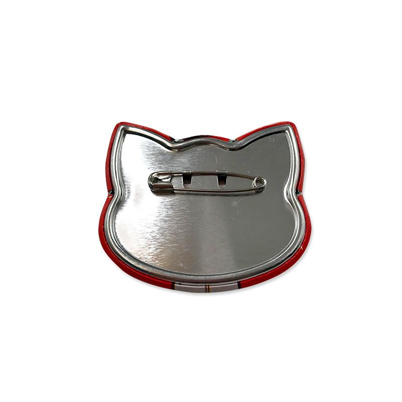 Promotional gift Tin Button Badge Custom printed Badge Pin