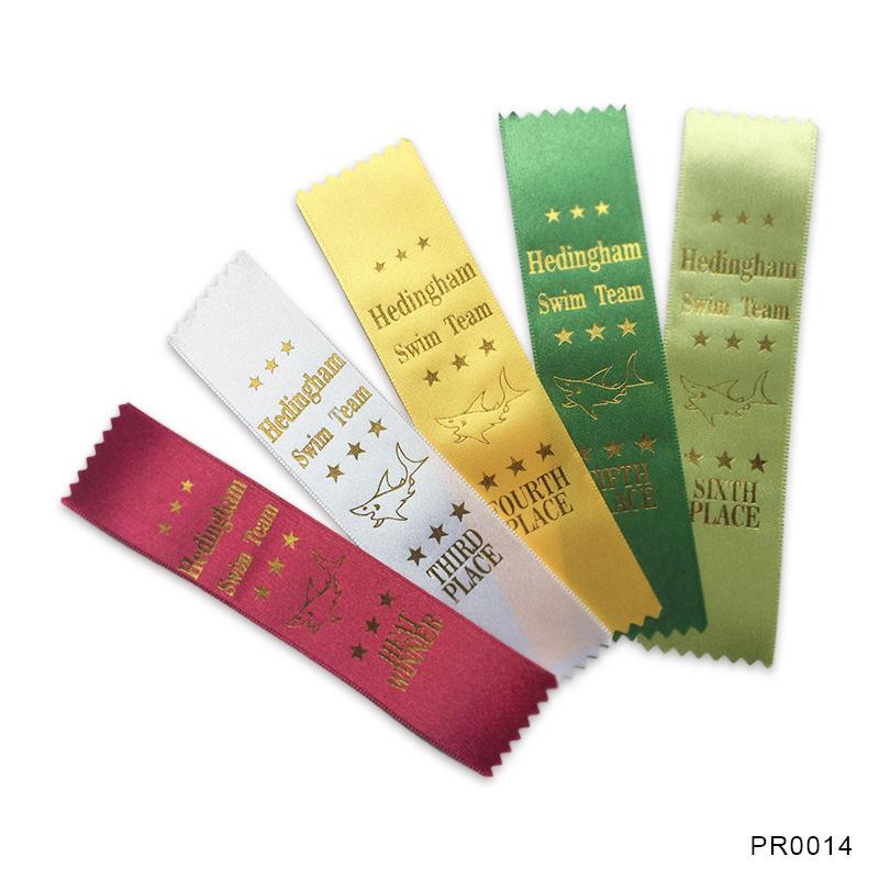 Custom Sports printed award ribbons