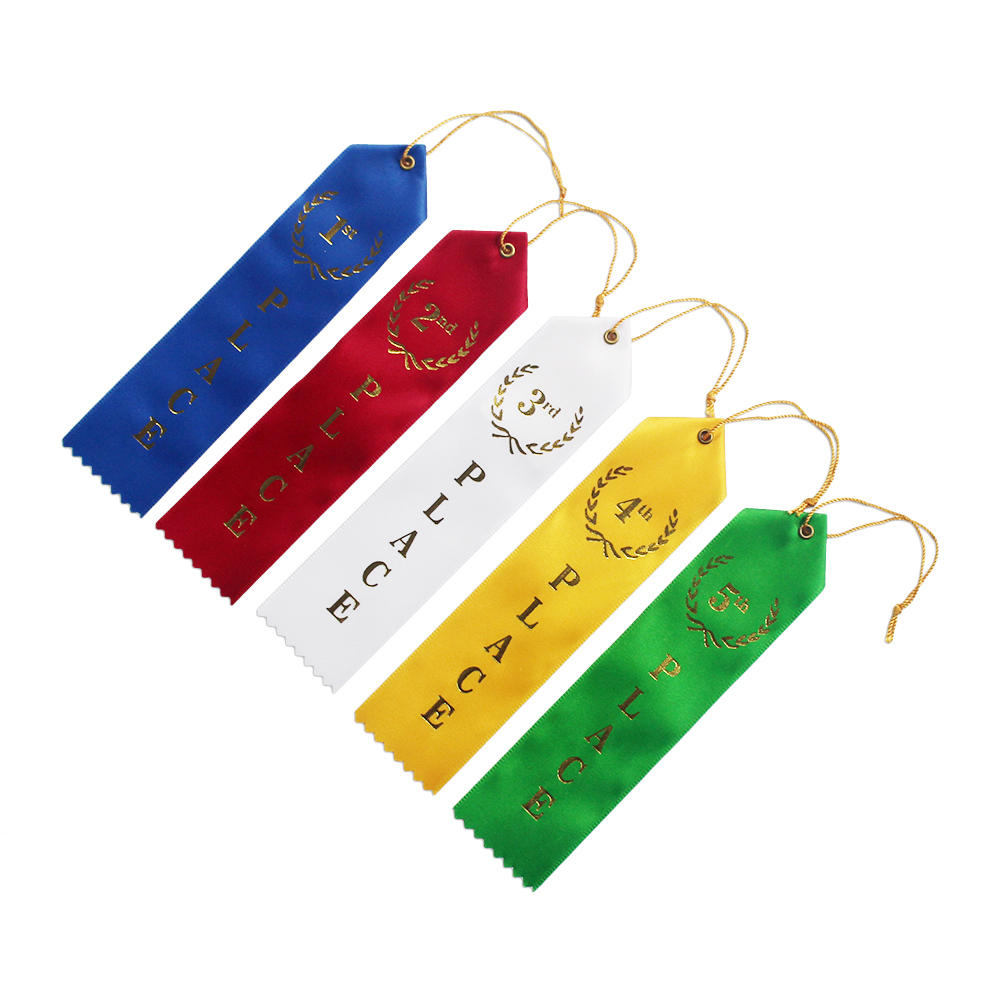 Premium Gift Racing Award Ribbon for sports Art competition
