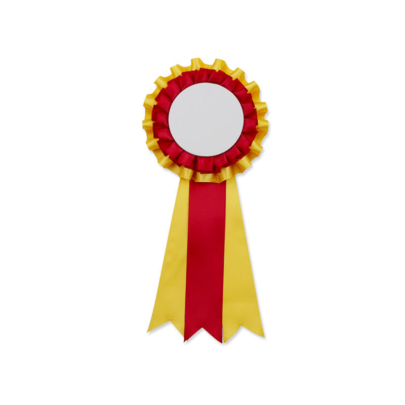 Promotional DIY Button Badge Award Ribbon Rosette for Kids Party Gift