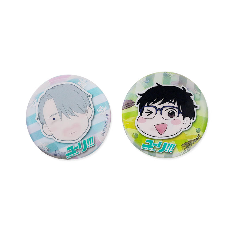 Promotional Gift 3D Lenticular Custom Animie Tinplate Button Badge