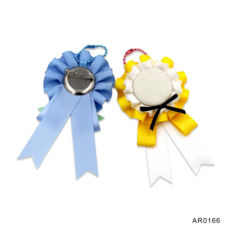 Award ribbon rosette/ribbon flower for wedding ceremony Party