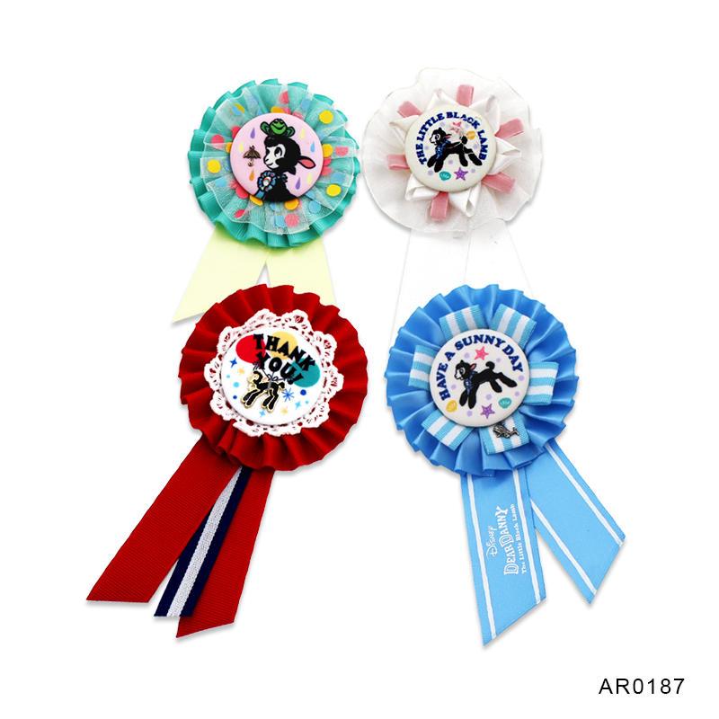 Award ribbon rosette/ribbon flower for wedding ceremony Party
