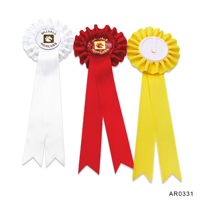 Custom Award Ribbon Rosettes For Horse Show