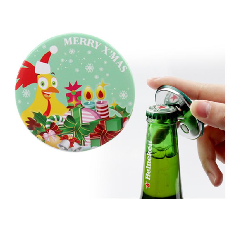 Wholesale custom cap shaped beer bottle opener for screw cap