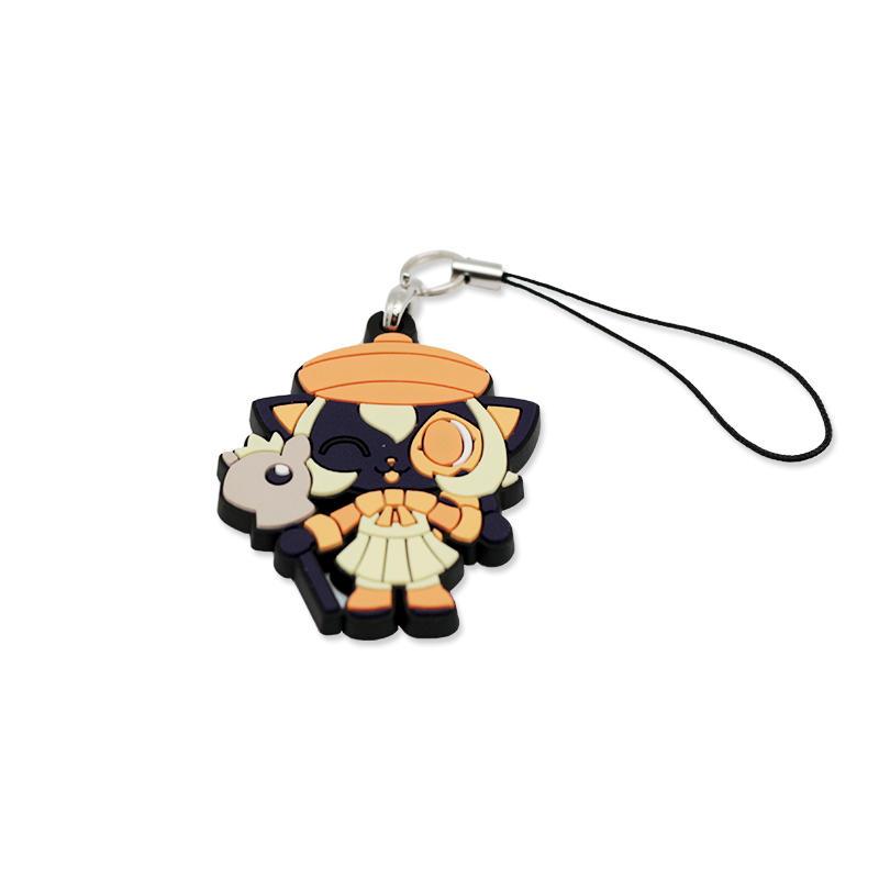 Promotional gift Anime PVC Key Chain Custom Your Logo Keychain