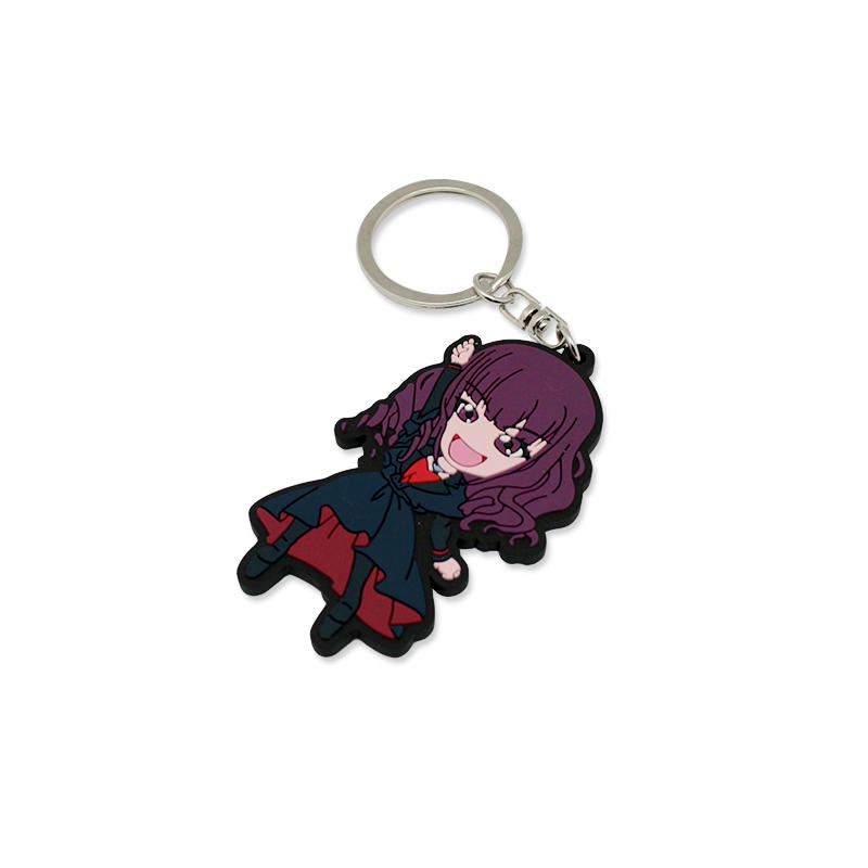 Promotional Gift Soft PVC Keychain for Birthday Gift