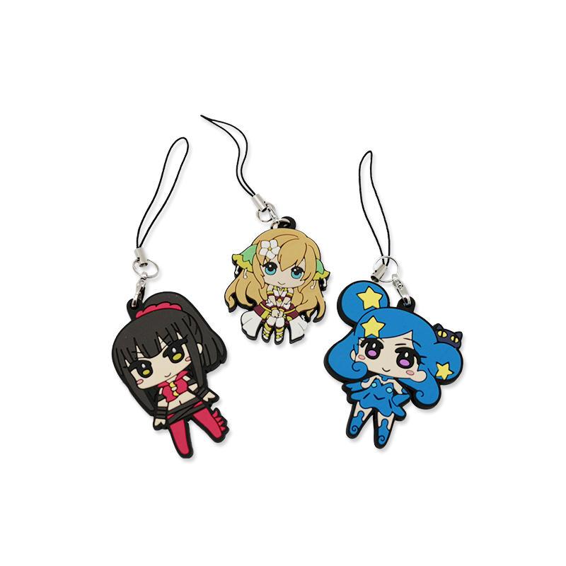 Promotional Gift Custom Key chain Printing Logo Key Ring for Girls