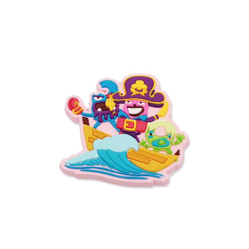 Cheap custom rubber 3d soft pvc fridge magnet for Home Decor Toys